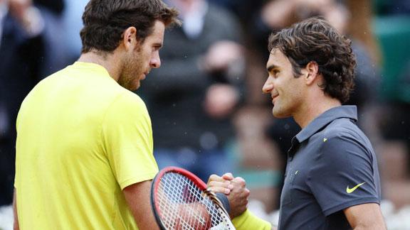 Del Potro - Federer