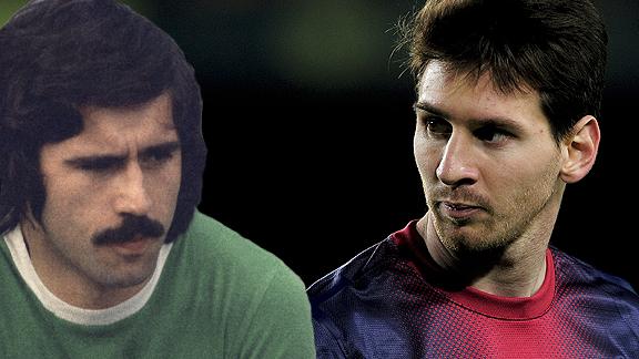 Messi y M�ller
