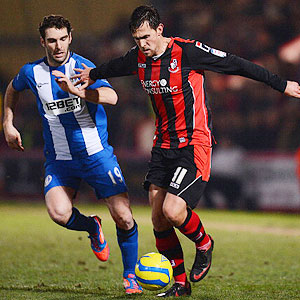 Wigan v  Bournemouth