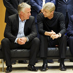 Deschamps y wenger