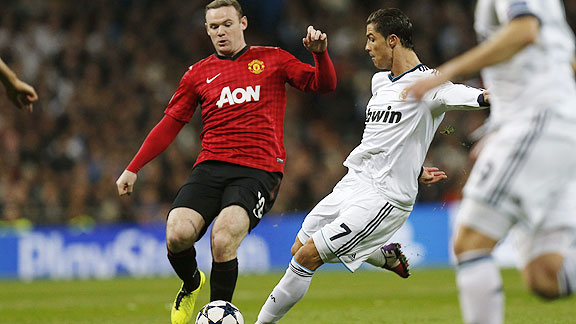 Man Utd v Real Madrid