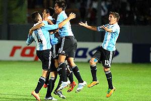 Selecci�n sub 17 de Argentina