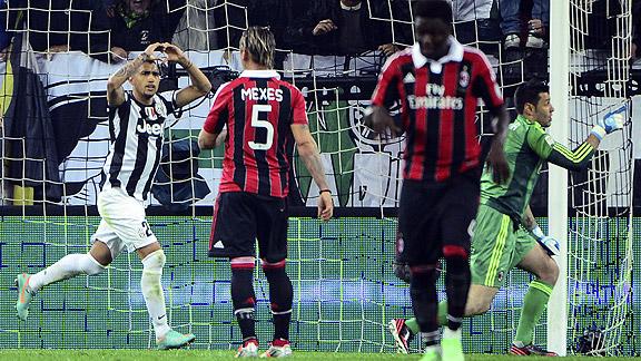 Milan v Juventus