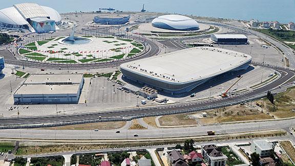 Circuito de F-1 en Sochi, Rusia