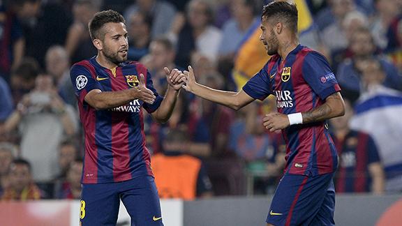 Alba, Neymar