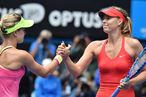 Sharapova y Bouchard
