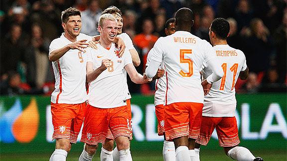 Holanda v Espa�a