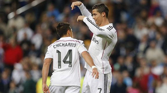 """Cristiano Ronaldo """"El mejor del mundo"""" agradece a Chicharito"""