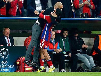 Guardiola y Thiago